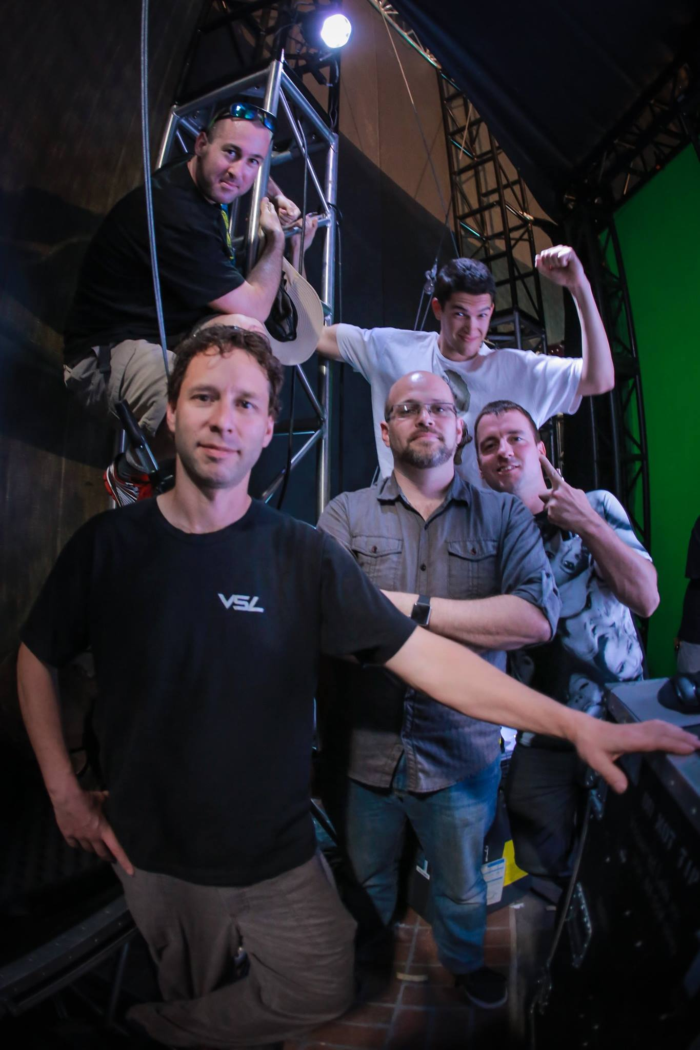 Heroes Reborn comicon Production team